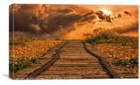 The Path To Where?, Canvas Print