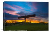 Angel of the North, Canvas Print