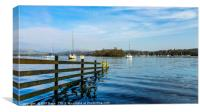 Tranquillity on Lake Windermere, Canvas Print