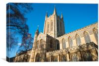St Edmundsbury Cathedral, Canvas Print