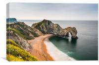 Durdle door Jurassic coast, Canvas Print