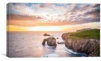Sunset at Lands End, Canvas Print
