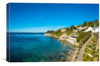 The picturesque village of St Mawes, Canvas Print