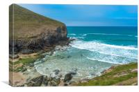 Chapel Porth, Canvas Print