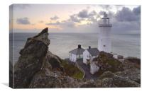Start Point Lighthouse., Canvas Print