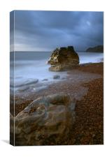 Eype Beach, Dorset, Canvas Print