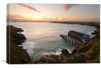 Padstow Lifeboat Station, Canvas Print