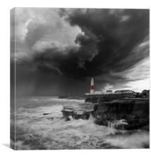 Any Portland in a Storm, Popped., Canvas Print