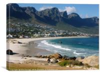 Camps Bay, Cape Town, South Africa, Canvas Print