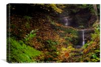 Carriden Falls, Bo'ness, Canvas Print