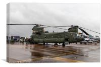 Boeing CH-47 Chinook, Canvas Print