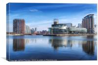 Salford Quays No. 5, Canvas Print