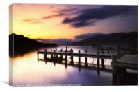 Loch Earn No.1, Canvas Print