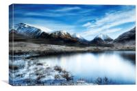 Glen Etive Scotland (3x2 ratio), Canvas Print