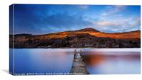 Loch Earn No.10, Canvas Print