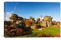 Brimham Rock No. 1, Canvas Print