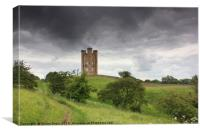 Broadway Tower in the Cotswolds, Canvas Print