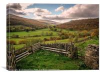Langstrothdale Chase, Canvas Print