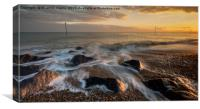 Bognor Rocks, Canvas Print