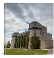 Goodwood House, Canvas Print