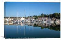 Sunny Padstow Harbour, Canvas Print