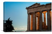 From the Parthenon to the Sea, Canvas Print