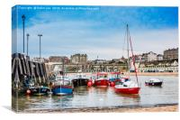 Broadstairs Harbour, Isle of Thanet, Kent, Canvas Print