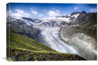 Val d'Herens, Canvas Print