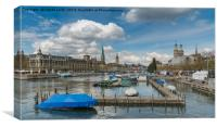 The Limmat, Canvas Print