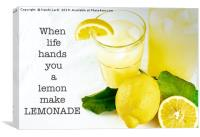 Lemonade, Canvas Print