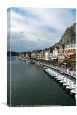 On the Meuse River, Canvas Print