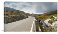 San Bernardino Pass, Canvas Print