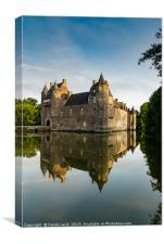 Chateau de Trecesson 3, Canvas Print