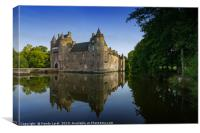 Chateau de Trecesson 2, Canvas Print