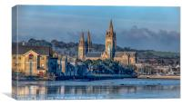 Truro-Cathedral Cornwall, Canvas Print