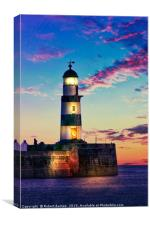 Seaham Lighthouse, Canvas Print