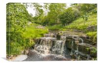 Summer at Ettersgill Beck, Teesdale, Canvas Print