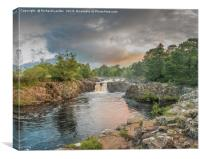 Low Force Waterfall on the Summer Solstice 3, Canvas Print