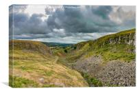Holwick Scar, Upper Teesdale, Canvas Print