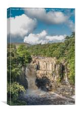 High Force Waterfall, Upper Teesdale, Canvas Print