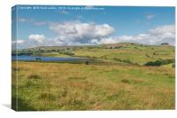 Grassholme Reservoir and Lunedale (2), Canvas Print