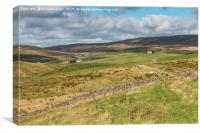 Harwood, Upper Teesdale, September 2019 (2), Canvas Print