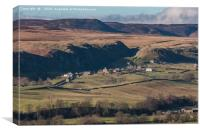 Holwick, Upper Teesdale, Canvas Print