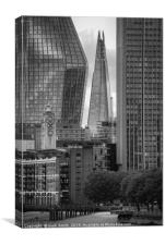 Shard in Alignment, Canvas Print