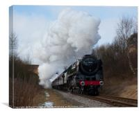 70013 - Oliver Cromwell , Canvas Print