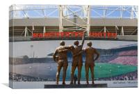 The Holy Trinity, Old Trafford, Canvas Print