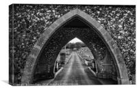 Central Archway, Newhaven Church, Canvas Print