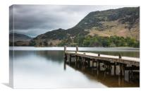 Ullwater Landing stage, Canvas Print