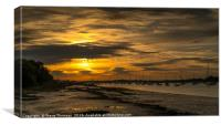 Chichester Harbour - Golden Hour, Canvas Print
