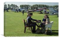 Goodwood Revival Meeting - The Airfield, Canvas Print